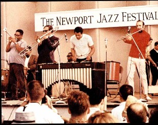 At Newport w/Dizzy Gillespie, Albert Mangeldorf, Roy Ayers