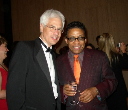 Jim Newsom and Herbie Hancock - May,2003