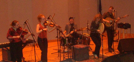 Cathie Ryan and band in Virginia Beach, 3/18/05