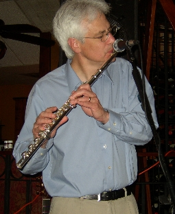Jim Newsom at Cafe Rosso - April 21, 2004