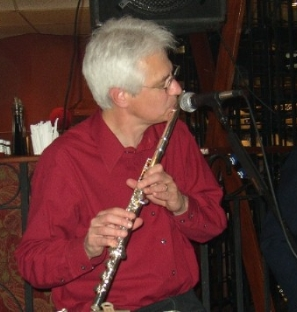 Jim on the flute